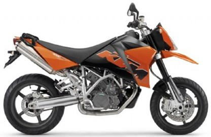 KTM 950 Supermoto Custom Bike
