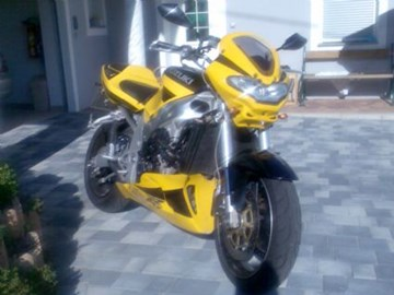 Suzuki GSX-R 750 Custom Bike