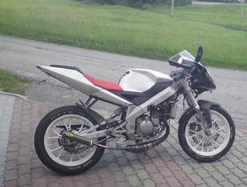 Aprilia RS 50 Custom Bike