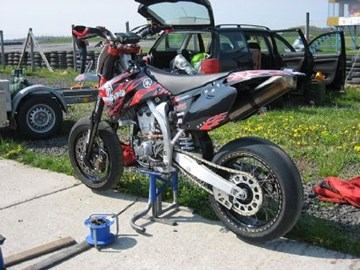 Yamaha YZ 450 F Custom Bike