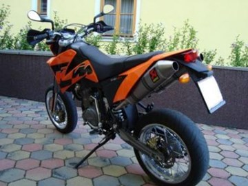 KTM 640 LC4 Supermoto Custom Bike