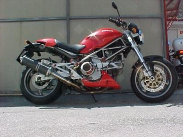 Ducati Monster 900 Custom Bike