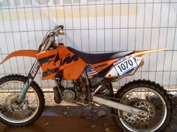 KTM 250 SX Custom Bike