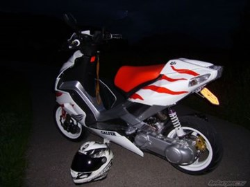 Aprilia SR 50 Factory i.e. Custom Bike