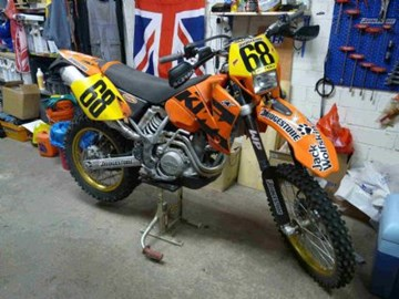 KTM 520 EXC Racing Custom Bike