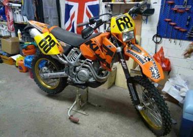 Gebrauchtmotorrad KTM 520 EXC Racing