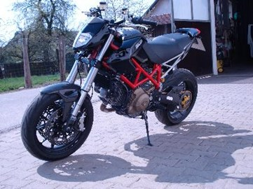 Ducati Hypermotard 1100 Custom Bike