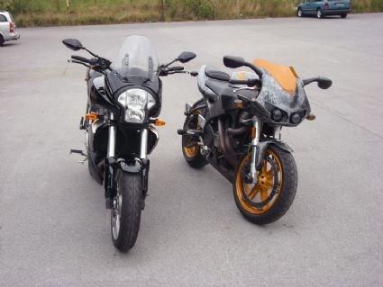 Umgebautes Motorrad Buell XB12STT von Wild East
