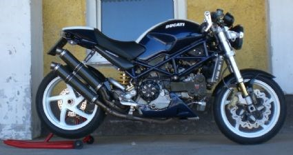 Ducati Monster S4R Umbau