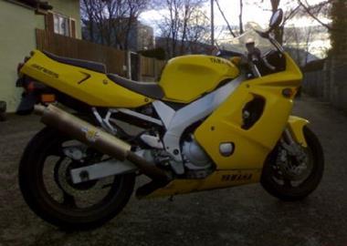 Gebrauchtmotorrad Yamaha FZR 600 R