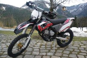 Husaberg FE 570 Umbau anzeigen