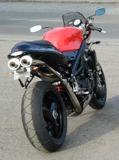 Triumph Speed Triple Umbau