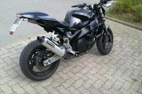 Yamaha FZR 1000 EXUP Umbau anzeigen