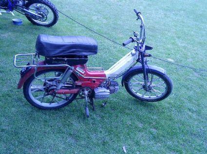 umgebautes motorrad puch maxi von thomas168. Black Bedroom Furniture Sets. Home Design Ideas