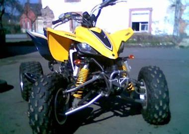 Gebrauchtmotorrad Yamaha YFZ 450