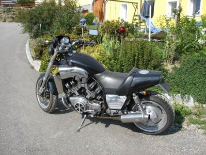 Umgebautes Motorrad Yamaha V Max VMX 1200 Von Medmex