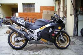 Kawasaki Ninja ZX-6R Umbau anzeigen