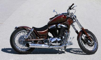 Umgebautes Motorrad Suzuki VS 1400 GLP Intruder Von Zissy1989