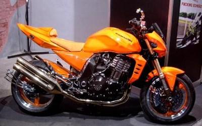 Kawasaki Z1000 Stark umgebaut