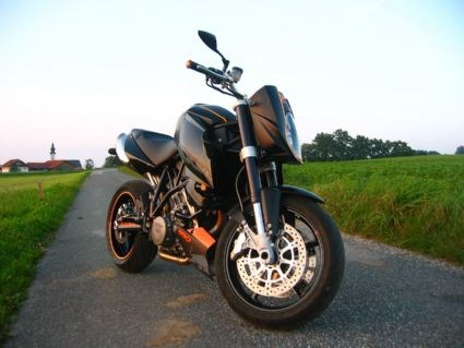 KTM 990 Super Duke Umbau