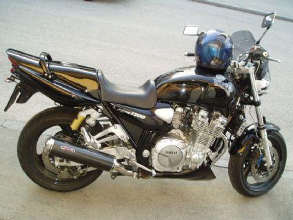 umgebautes motorrad yamaha xjr 1300 von johnnyf66. Black Bedroom Furniture Sets. Home Design Ideas