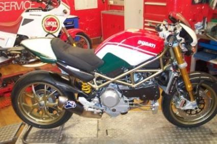 Ducati Monster S4RS Umbau