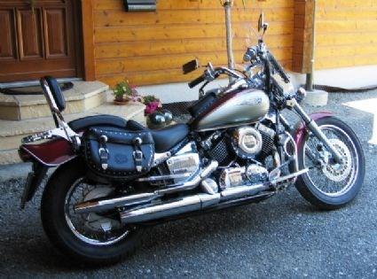 umgebautes motorrad yamaha xvs 650 drag star von eric p. Black Bedroom Furniture Sets. Home Design Ideas