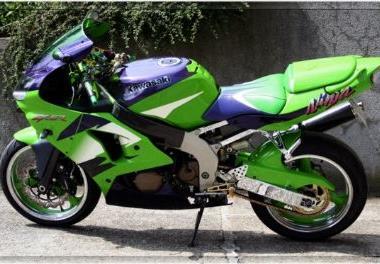 Kawasaki Ninja Zxr Bj