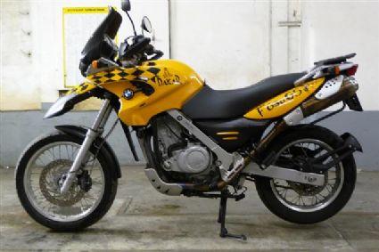 Umgebautes Motorrad Bmw F 650 Gs Von Mh67 1000ps At