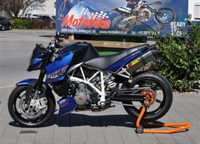 KTM 990 Super Duke Stark umgebaut