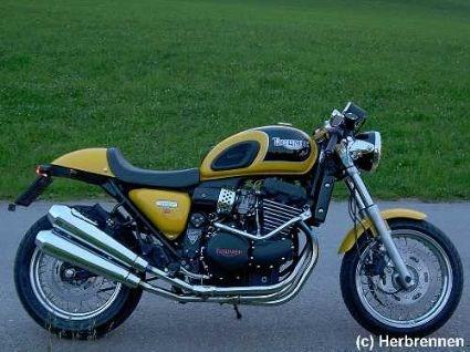 Umgebautes Motorrad Triumph Thunderbird Sport Von Steve 1000psde
