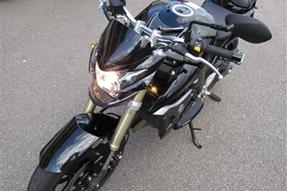 Suzuki GSR 750 Umbau anzeigen