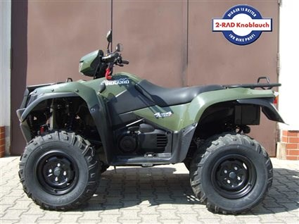umgebautes motorrad suzuki kingquad 750axi 4x4 von 2 rad. Black Bedroom Furniture Sets. Home Design Ideas