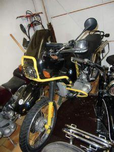 umgebautes motorrad bmw r 100 gs paris dakar von rudiloew. Black Bedroom Furniture Sets. Home Design Ideas