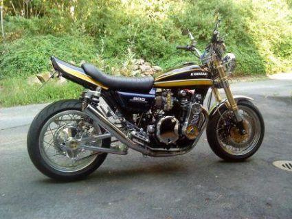 Umgebautes Motorrad Kawasaki Z900 Von Osc Team