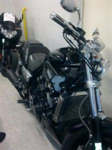 Umgebautes Motorrad Yamaha V Max VMX 1200 Von MichiMichael