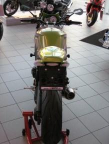 Triumph Speed Triple 1050 Ein wenig umgebaut