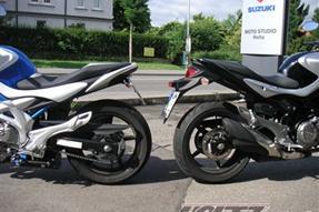 Suzuki SFV 650 Gladius Umbau anzeigen