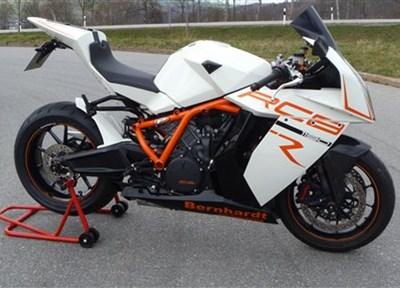 KTM 1190 RC8 R Stark umgebaut