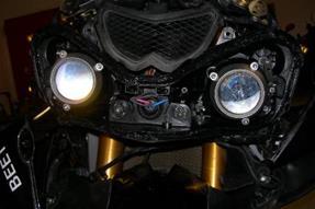 Kawasaki Ninja ZX-10R Umbau anzeigen