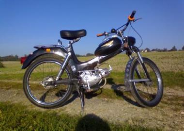 Gebrauchtmotorrad Puch MS 50 V