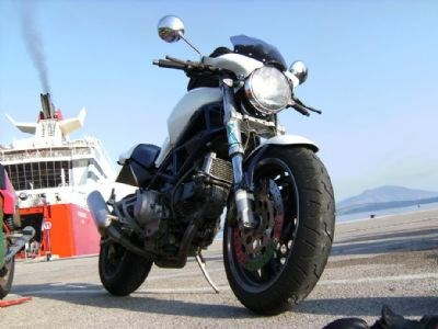 Ducati Monster 900 Umbau