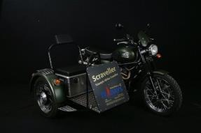Triumph Scrambler Umbau anzeigen