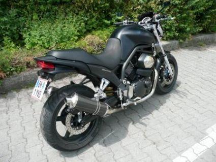 Umgebautes Motorrad Yamaha BT 1100 Bulldog Von Felsen