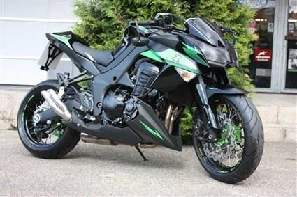 Umgebautes Motorrad Kawasaki Z1000 Von Warm Up Zweiradtechnik GmbH