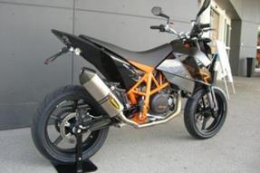 KTM 690 Supermoto R Umbau anzeigen