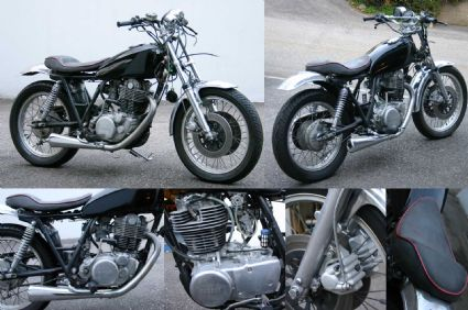 umgebautes motorrad yamaha sr 500 von throttle. Black Bedroom Furniture Sets. Home Design Ideas