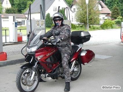 umgebautes motorrad honda xl 1000 v varadero von steff1977. Black Bedroom Furniture Sets. Home Design Ideas