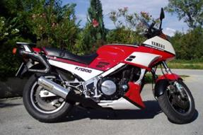 Yamaha FJ 1200 Umbau anzeigen
