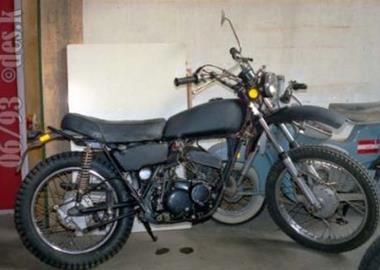 Gebrauchtmotorrad Kawasaki KH 400